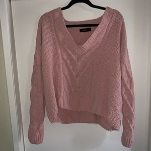 Plus Cropped Sweater